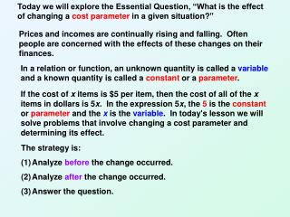 The strategy is:  Analyze  before  the change occurred. Analyze  after  the change occurred.