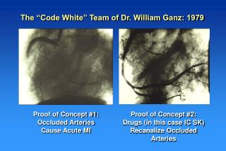 Proof of Concept #1: Occluded Arteries Cause Acute MI