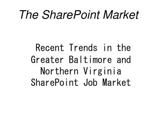 The SharePoint Market