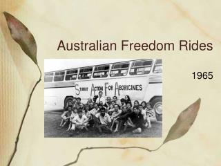 Australian Freedom Rides