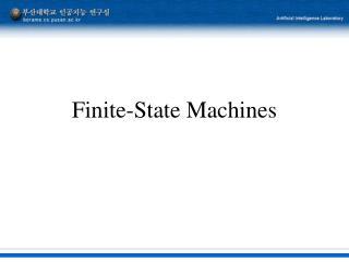 Finite-State Machines