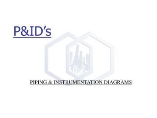 P&ID�s