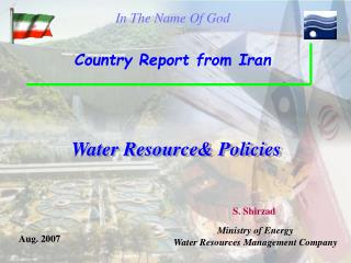 Water Resource Policies