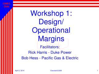Workshop 1: Design