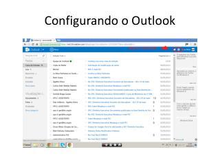 Configurando o Outlook