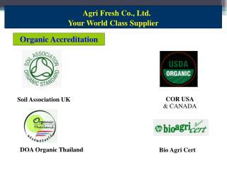 Organic Accreditation