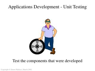 Applications Development - Unit Testing