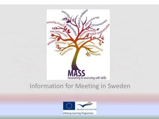 Information for Meeting in Sweden