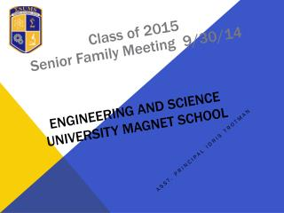 Engineering and Science  University Magnet School