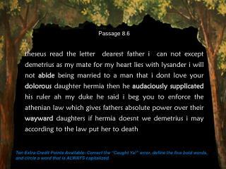 Passage 8.6
