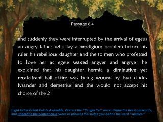 Passage 8.4
