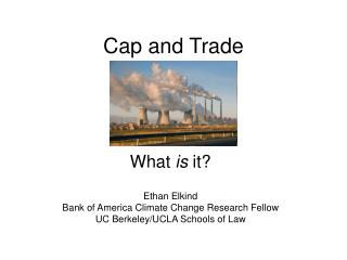 Cap and Trade