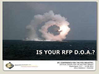 IS YOUR RFP D.O.A.?