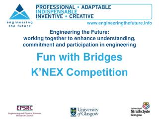 Fun with Bridges K'NEX Competition