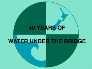 40 YEARS OF  WATER UNDER THE BRIDGE