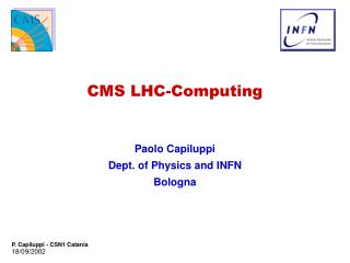 CMS LHC-Computing