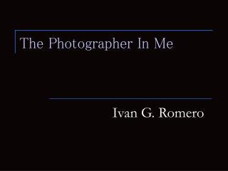 Ivan G. Romero