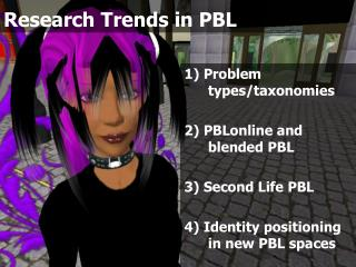 Research Trends in PBL