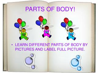 PARTS OF BODY!