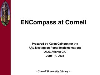 ENCompass at Cornell