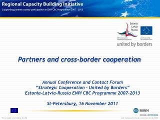 Partners and cross-border cooperation