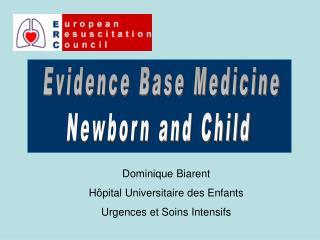 Evidence Base Medicine Newborn and Child