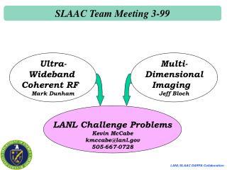 SLAAC Team Meeting 3-99