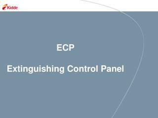 ECP Extinguishing Control Panel