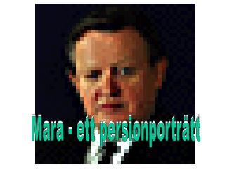 Mara - ett persionporträtt