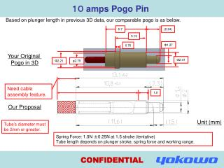 10  amps Pogo Pin