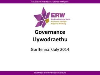 Governance Llywodraethu