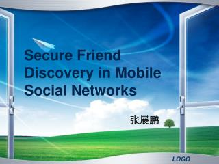 Secure Friend Discovery in Mobile Social Networks