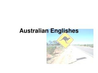 Australian Englishes