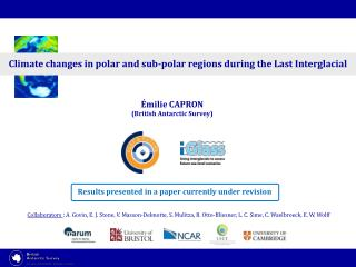 Climate changes in polar and sub-polar regions during the Last Interglacial