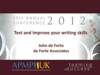 Test and improve your writing skills