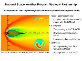 National Space Weather Program Strategic Partnership