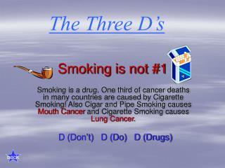 Smoking is not #1