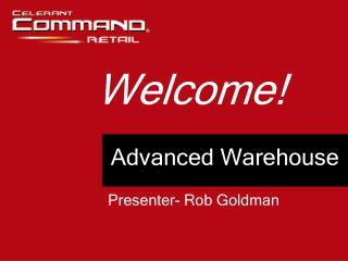 Advanced Warehouse