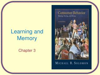 Learning and Memory Chapter 3