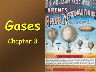 Gases Chapter 3