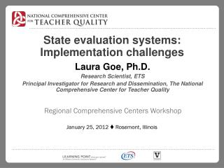 State evaluation systems: Implementation challenges