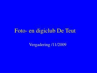 Foto- en digiclub De Teut