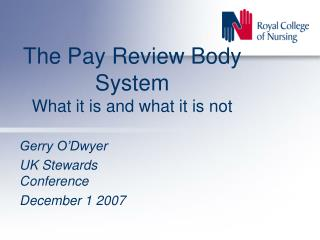 The Pay Review Body System What it is and what it is not