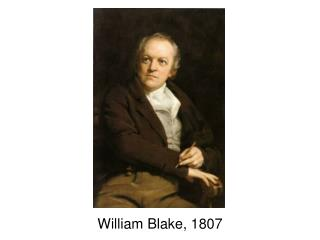 William Blake, 1807