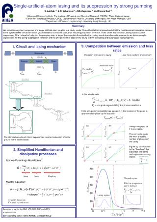 1. Circuit and lasing mechanism