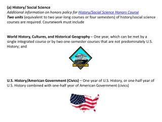 (a) History/ Social Science