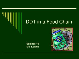 DDT in a Food Chain