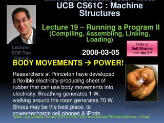 Body movements   power!