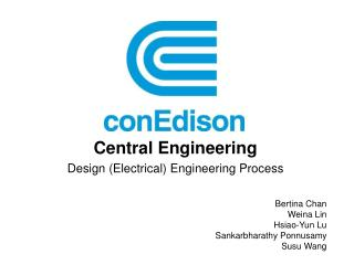 Central Engineering Design Electrical Engineering Process