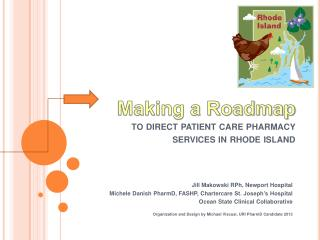 Making a Roadmap to direct patient care pharmacy services in rhode island